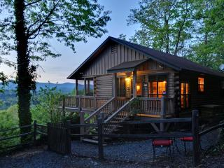 Stunning pet friendly Mountain View Log Cabin., Ellijay