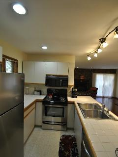 Redone Kitchen with Stainless Steel Appliances