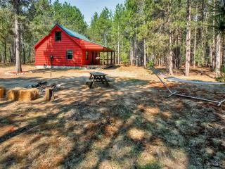 Private 2BR South Boardman Cabin w/Forest Views!