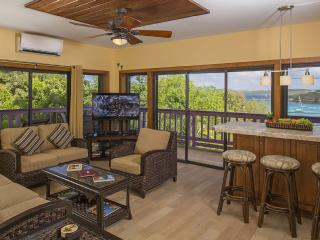 Newly Remodeled W/Magnificent View, Walk to Town, Cruz Bay