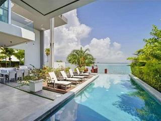 New Listing! Lavish 4BR Miami House on San Marco Island w/Private Infinity Pool, Wifi & Marvelous Wide Bay Views - Prime Waterfront Location! Near Beaches, Nightlife, Boat Rentals & More