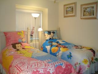 3rd room w/2 twin bed & Disney theme bedding