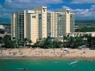 On the beach ESJ Towers - Jan 19 - Jan. 24, 2016, Isla Verde
