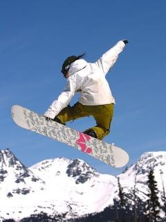 SNOW BOARDING AT SNOW SUMMIT AND BEAR MOUNTAIN