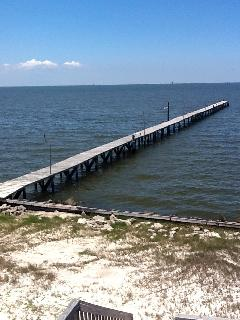 Fishermans Paradise!  315 ft.Private Fishing Pier with lights every 50 ft.