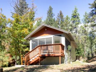Beautiful 1BR Ruidoso Cabin w/Private Hot Tub, Gas Grill & Wifi - Peaceful Location Near the River, Minutes to Outdoor Recreation & Town Attractions!