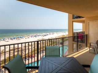 New Listing! Delightful 2BR Orange Beach Condo w/Wifi, Expansive Ocean Views & Resort Style Amenities - Ideal Beachfront Location, Near Restaurants & Shopping!