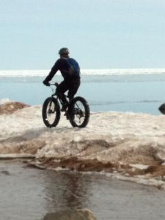 Biking Superior Ice