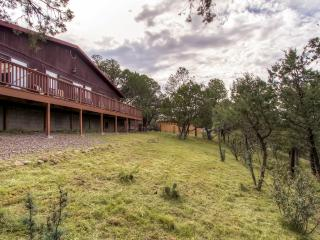 3BR 'The Deer Spirit Cabin' near Silver City w/Wifi, Private Wraparound Deck & Awe-Inspiring Mountain Views - Easy Access to Lake Roberts & Countless Renowned New Mexico Attractions!