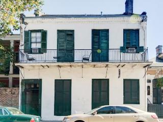 Charmingly Historic 2BR New Orleans Condo w/Wifi, Fully Stocked Kitchen & Large Shaded Courtyard - Unbeatable Bourbon St. Location! Walk to Endless French Quarter Attractions!