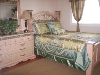 Room 1:  Evergreen Room:  Queen Bed with private bath.