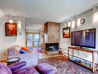 15% Off Stays of 4+ Nights! Beautiful 2BR Silverthorne Condo – Close to Keystone, A-Basin, & Breckenridge w/Stunning Mountain Views. WiFi, Washer/Dryer and Cable! Year-Round Fun for Everyone!