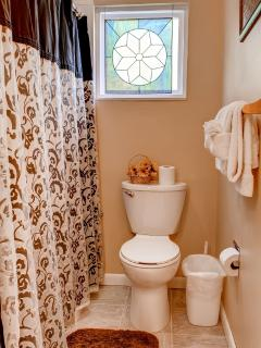 One of the home's 5 accommodating bathrooms.