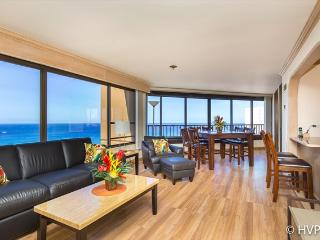 MONTHLY 2 Bdrm 2 Bath Ocean Sunset Views w Parking, Honolulu