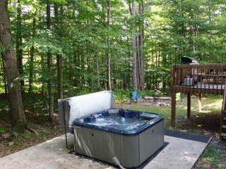 Crazyhorse Cabin - 4 BR with crib, Hot Tub, Arcade Games, Pool Table & FirePit