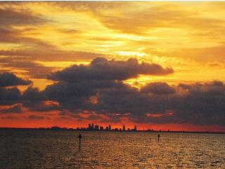 Waterfront 2b.2.5b Gulfaccess Town House suite U-3216 at Private Beach, Tampa