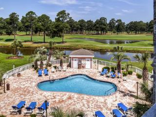 Peaceful 2BR Myrtle Beach Condo on Golf Course!