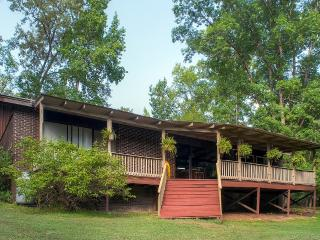 Secluded 3BR Lincolnton House w/Outdoor Pool, Private Dock, Expansive Deck & Stunning Water Views - Prime Thurmond Lake Location! Easy Access to Fishing, Golfing & More!