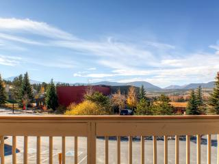 Enjoy breathtaking views from the private balcony!