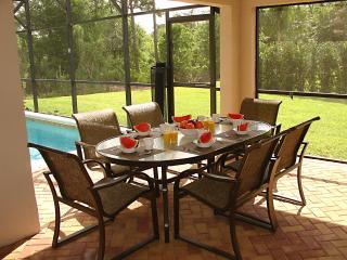Enjoy a peaceful breakfast