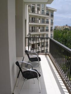 Jaco Bay balcony