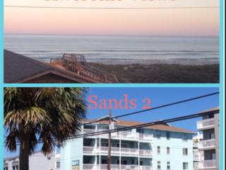 2 BR Condo with Ocean & Lake views - Sands II, Carolina Beach
