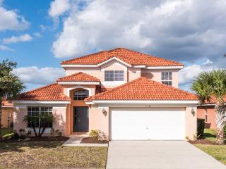 This comfy 5 bedroom family vacation pool home in Aviana Resort Orlando is just 10 miles to Walt Disney World., Davenport