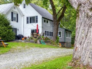 New Listing! 1BR Camden 'Luxury Apartment' w/Wifi, Enclosed Sun Porch & Majestic Mountain Views - Peaceful Location Aside Seasonal Babbling Brook! Easy Access to Abounding Outdoor Recreation!