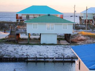 Young's by-the-Sea! Own  Dock on the Boat Canal, yet just across the Street from the Gulf Beach, Dauphin Island