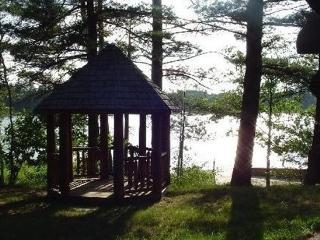 Lakeside Log Home, Gaylord