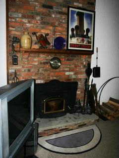Fireplace (Living Room)