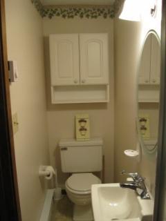 2nd full bathroom on loft level (shower stall)