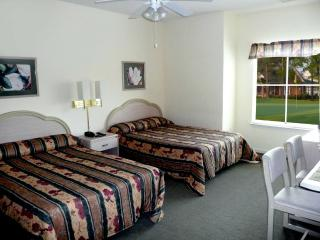 2nd bedroom - 2 double beds