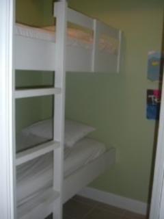 Kids will love the bunkroom