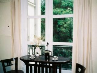 Dining area and French windows