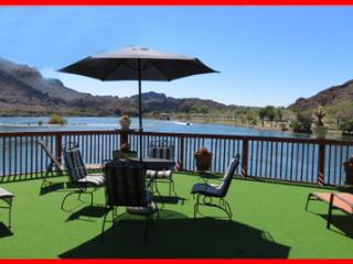 River Front Home w/Private Boat Ramp Pontoon Dock, Parker Dam