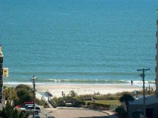 Myrtle Beach Ocean View Condo with a Balcony, Sauna, and Hot Tub