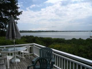 Riverfront cottage one mile from ocean