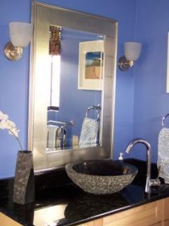 Master Suite Granite Bathroom Dual Shower Heads