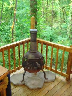Country Charm Chimenea