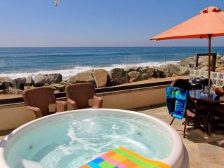Spectacular, Beachfront Villa, Private Spa- P518-2, Oceanside