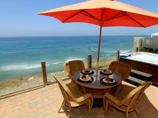 Oceanfront Single Family Home, Spa, F/P  E693-0, Encinitas
