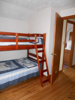 Bedroom 3 (2 sets bunk beds - this set twin over twin)