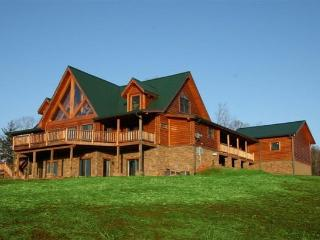 Luxury Mountain Wine Country Log Home, Dahlonega