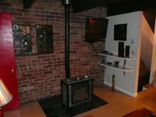 Fire Place + TV