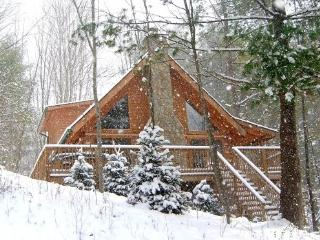 Sale rates NOW!  LOG CABIN~HOT TUB~Fireplace~Mtns, Boone