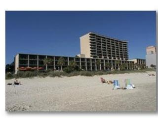 Premier Myrtle Beach Direct Ocean Front Resort with Grill and Balcony