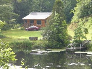 cottage by the pond, Blowing Rock
