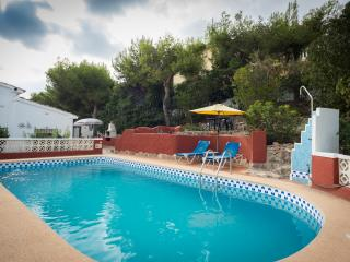 Villa in Moraira with PRIVATE POOL. Sleeps 4.  Great views, WiFi and UK TV