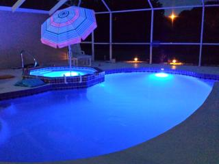Heated pool & Spa multi color LED